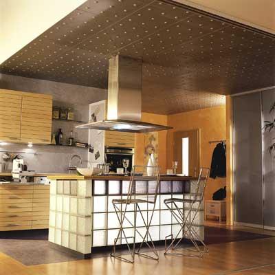 Saverbat exemple de r alisation bar en briques de verre for Brique de verre cuisine