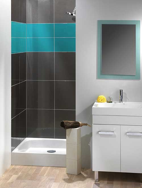 Recouvrir faience salle de bain peinture sans solvant - Comment couper de la faience sans carrelette ...