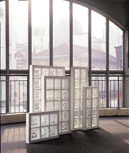 SAVERBAT Panneaux en briques de verre - Joint mortier